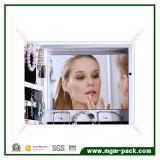 Armoire de rangement miroir murale à miroir avec cadre photo