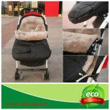 Winter-warmer australischer Lamm-Haut-Baby-Fuß - Muffe auf Spaziergänger-Buggy
