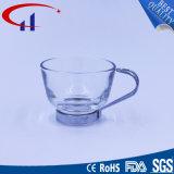 copo de vidro do projeto 70ml novo com mão do metal (CHM8520)