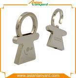 Подгонянный металл Keychain конструкции творческий