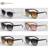 2014 óculos de sol quentes plásticos da venda da forma nova (A14217)