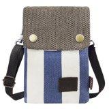 색깔 면 Fabaric 4개의 핸드백