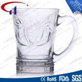 квалифицированная 180ml ясно выгравированная стеклянная кружка кофеего (CHM8177)