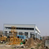 Costruzione della struttura d'acciaio di resistenza di terremoto