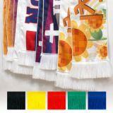 Изготовленный на заказ шарф вентилятора полиэфира печатание
