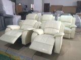 Sofá de Sofá Reclinable de Tela en Muebles de Sala (S822)