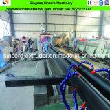 Riga di plastica dell'espulsione dell'espulsore di produzione del tubo di spirale di profilo del PVC del PE dell'HDPE