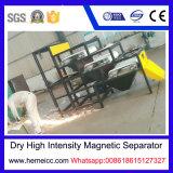 Separatore magnetico ad alta intensità asciutto del rullo per il minerale metallifero del manganese, quarzo