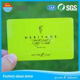 Kontaktlose Chipkarte der Chipkarte-/NFC/Leerzeichen-freie transparente Visitenkarten
