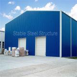 Carport chiaro prefabbricato del metallo della struttura d'acciaio con costo economico