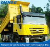 Hongyan Genlyon Brandの高品質350HP 8X4 TipperかDumper/Dump Truck