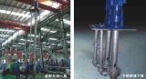 Bomba de água centrífuga de águas residuais vertical de aço inoxidável