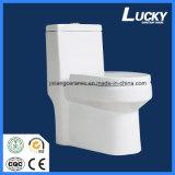 Het ceramische Toilet Uit één stuk 11# Super Siphonic van WC met Saso/Ce