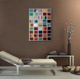 Peinture décorative de connexion de couleur