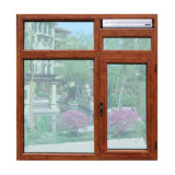 Hölzerner bunter thermischer Bruch-Aluminiumprofil-Flügelfenster-Fenster mit multi Verschluss Kz140