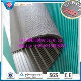 Feuille en caoutchouc de côte colorée industrielle/feuille en caoutchouc Nti-Abrasive