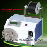 Máquina de enrolamento semiautomática do bobinamento do fio
