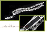 Armband van de Energie van de Gezondheidszorg van het Roestvrij staal van Zircon de Diamant Opgezette