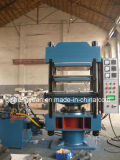 Máquina de goma del vulcanizador de la prensa/de la placa de los azulejos de suelo de la placa 350*350*2