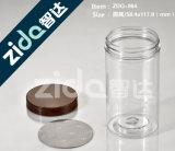 Botella de pared Eco tarros tarros de plástico PET Packaging Jar