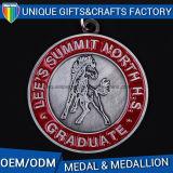 Medallones medalla de metal esmalte suave recuerdo de metal deporte