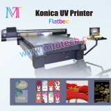 Flatbed ULTRAVIOLETA Printer con Konica 1024-14pl Printhead para High Resolution de 1440dpi