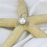 Argento d'acqua dolce naturale del pendente 925 della perla di figura animale di Snh