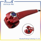 Mini encrespador de cabelo automático mágico do vapor do encrespador de cabelo do fabricante da onda do encrespador de cabelo