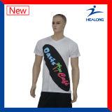 주문 t-셔츠 남자 t-셔츠 건조한 적합 t-셔츠