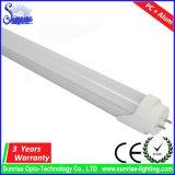 명확한 유백색 G13는 백색 1.5m 24W T8 LED 관 빛을 데운다
