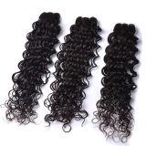 """4# o cabelo humano natural humano escuro reto dos pacotes 5A do Weave do cabelo do cabelo indiano 1PC Brown densamente tece a promoção grande 18 """" 20 """" 22 """" 24"""