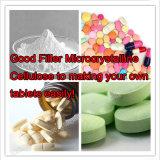 Cellulose microcristalline CAS de pente pharmaceutique de 99% : 9004-34-6 pour faire les tablettes stéroïdes