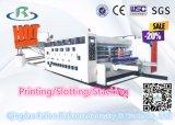 주름을 잡은 최신 판매는 기계 인쇄 기계를 만들어서 Slotter 절단기를 정지한다