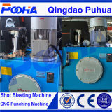 Машина CNC горячего индекса Aixs сбывания 4 автоматического гидровлическая пробивая с близкой рамкой
