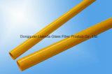 Pipe/Pôle/tube de Pultruded de fibre de verre du poids léger FRP avec résistant à la corrosion