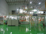 PP Non Woven Machineのための3.2m Doulble Beam Production Line