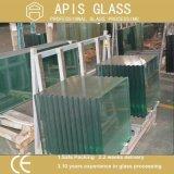 Usine des bords clairs de Matt /Polished en verre Tempered de flotteur en verre