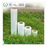 100% de la Virgen material de película plástica, LDPE película de estiramiento
