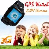 3G pantalla táctil del GPS del reloj de los niños con la cámara y SOS para la ayuda (D18)