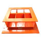 Vollautomatische Formteil-Maschine des Block-Qt10-15