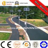 Gussaluminium-Straßenlaterne-Vorrichtungli-Batterie-Solarstraßenlaterne30W