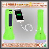 Солнечный факел с электрофонарем 1W СИД, светильником чтения, USB (SH-1929)