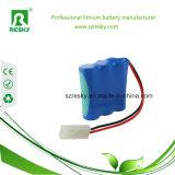 Pacchetto della batteria di LiFePO4 12V 3ah per la falciatrice da giardino e l'apparecchio medico