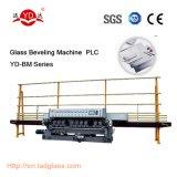 10 Spindes automatisches PLC-Steuergerade vertikale abschrägenglasmaschine