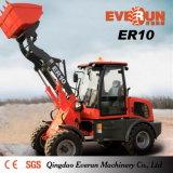 Chargeur compact approuvé de roue des machines 1.0ton de ferme de la CE d'Everun