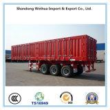 Reboque do caminhão da caixa de China Resistente Seco Van Carga Reboque