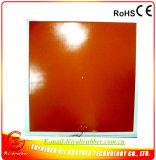 セリウムTUV IP68& RoHS 230V 215*215*1.5mmのシリコーンゴムのヒーター