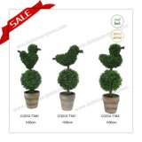 Естественн-Смотреть и уникально Topiary возникновения в баке