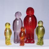 Sculpture en verre en gros en métier de résine de cadeau