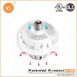 Lámpara rechoncha de la UL Dlc 20W LED con 360 grados E27 E40